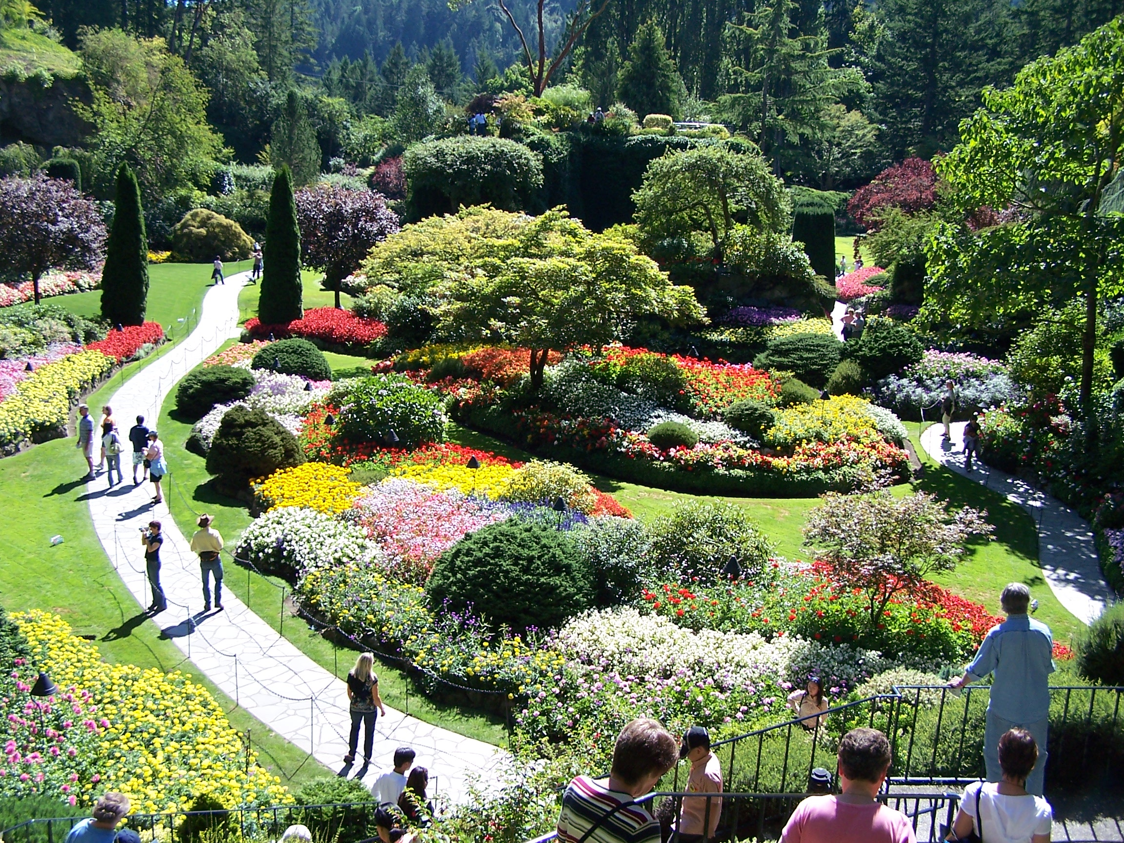 Most beautiful gardens across the world for Garden design ideas canada