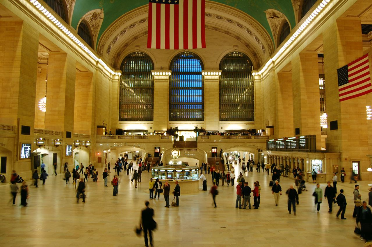 Afbeeldingsresultaat voor new york beautiful photo grand central station