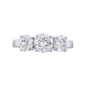 Tiffany & Co. Oval Diamond Engagement Ring