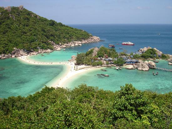 Koh Samui and Koh Phangan