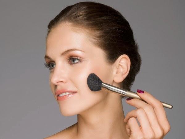 Use makeup sparingly