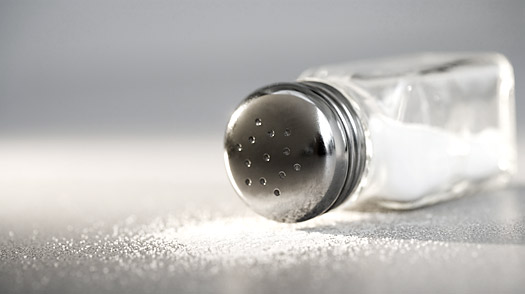 Lower down salt level