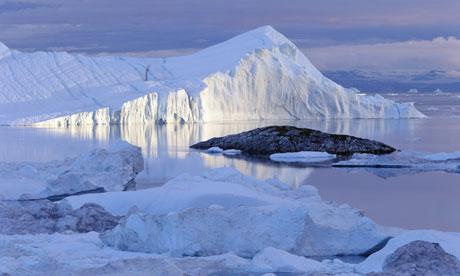 Disko Bay in Greenland