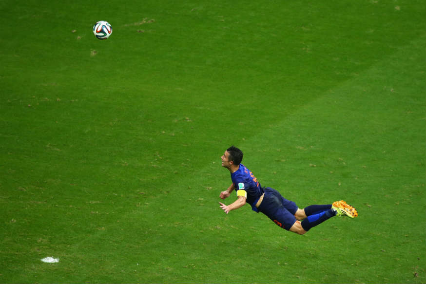 Robin van Persie vs. Spain
