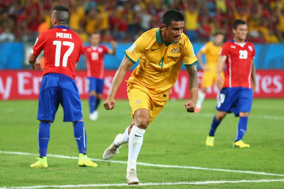 Tim Cahill vs. Netherlands